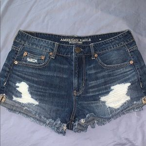 Women's American Eagle Tomgirl Jean Shorts